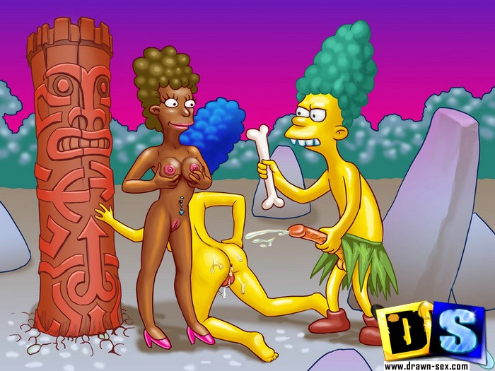Our famous toons porn heroes Simpsons fun for all of you.