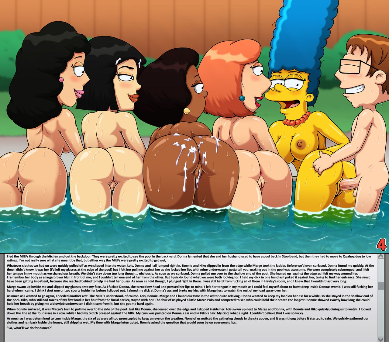 cartoon milf porn pics